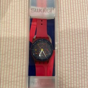 Pink and Blue Swatch